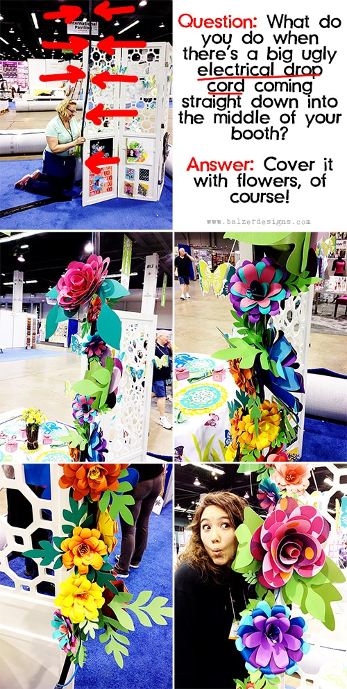 Fabulous Dimensional Flowers with ScanNCut