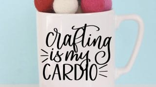 Crafting is my Cardio