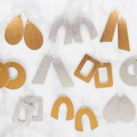How to Make Leather Earrings with a Cricut Machine
