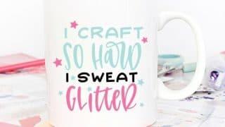 I Craft so Hard
