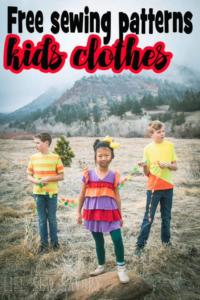 Project Run and Play sewing contest free sewing patterns for kids clothes