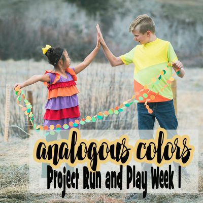 Project Run and Play – Analogous Colors