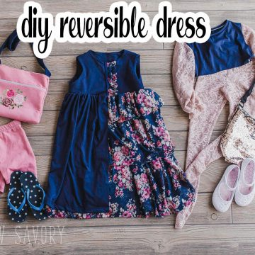 diy reversible dress