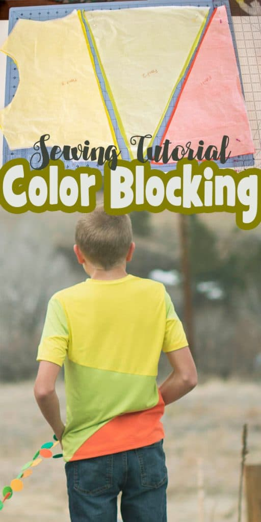 color blocking sewing tutorial