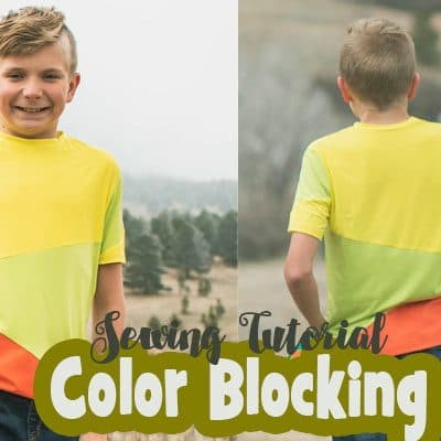 Color Blocking Basics – Sewing Tutorial