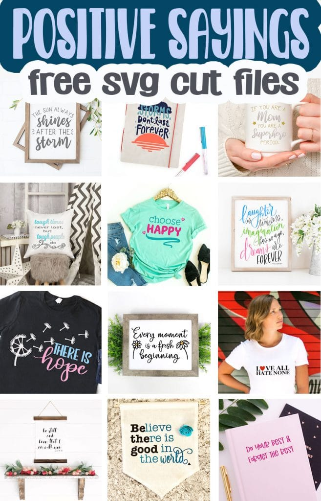 free cute files inspirational sayings svg files from Life Sew Savory