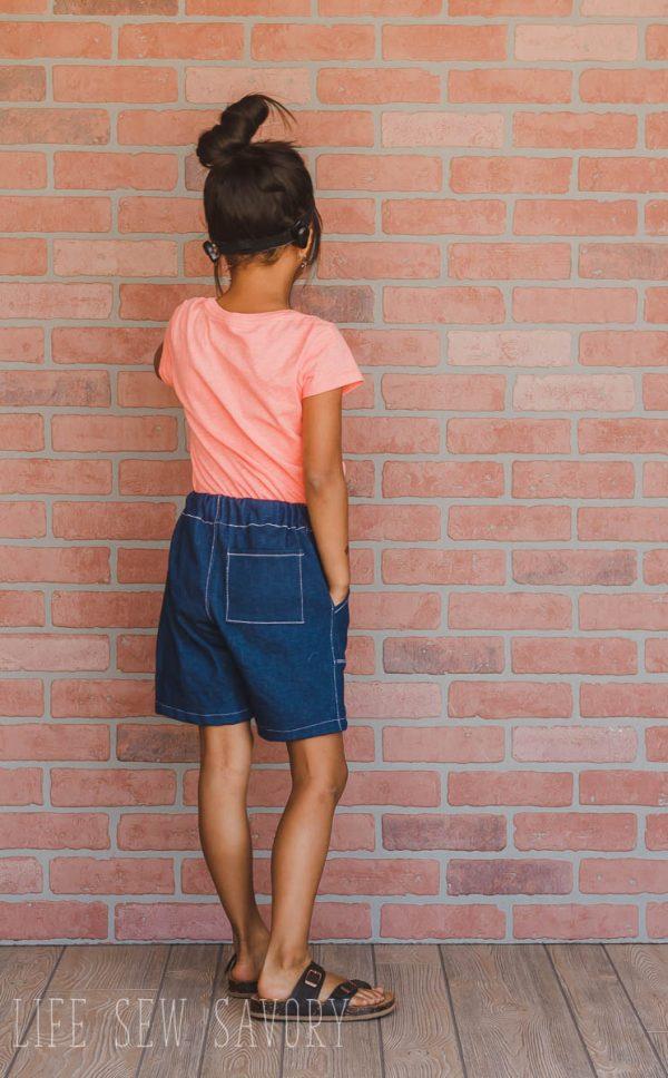 Bermuda shorts sewing pattern