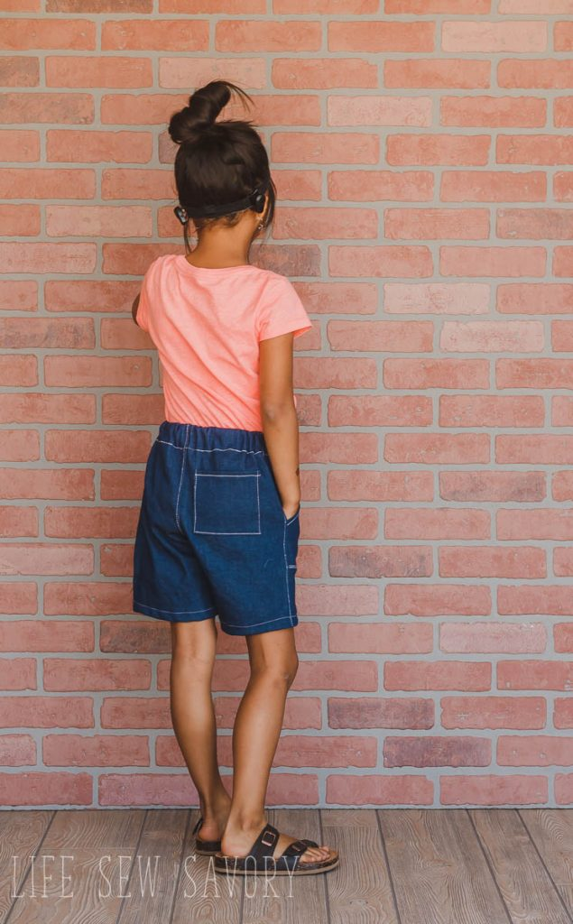 Bermuda shorts sewing pattern