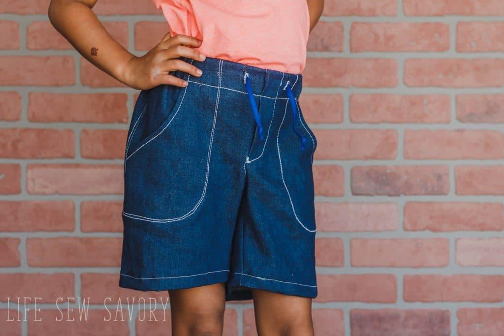 printable free shorts pattern