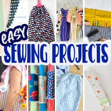 easy sewing projects for begingers