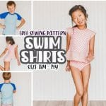 swim shirt sewing pattern