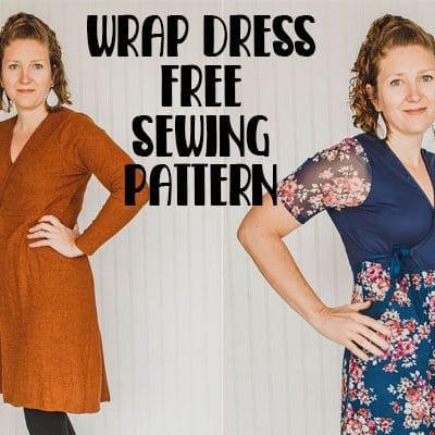 Wrap Dress Sewing Pattern – Free
