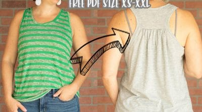 free tank top sewing pattern pdf
