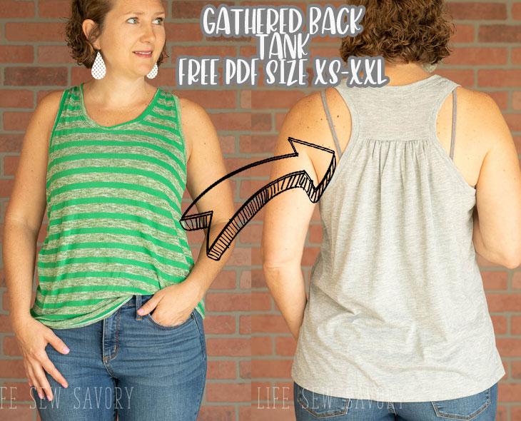 free tank top sewing pattern pdf