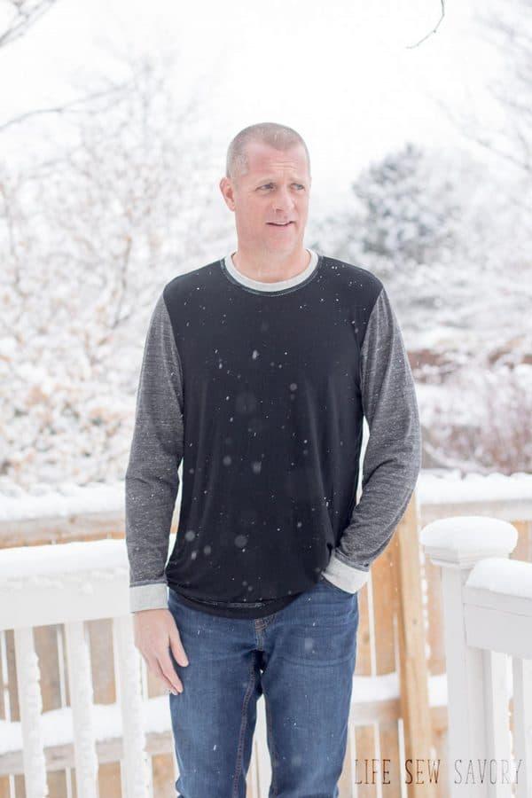mens tshirt pattern