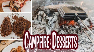 Campfire desserts photos intro