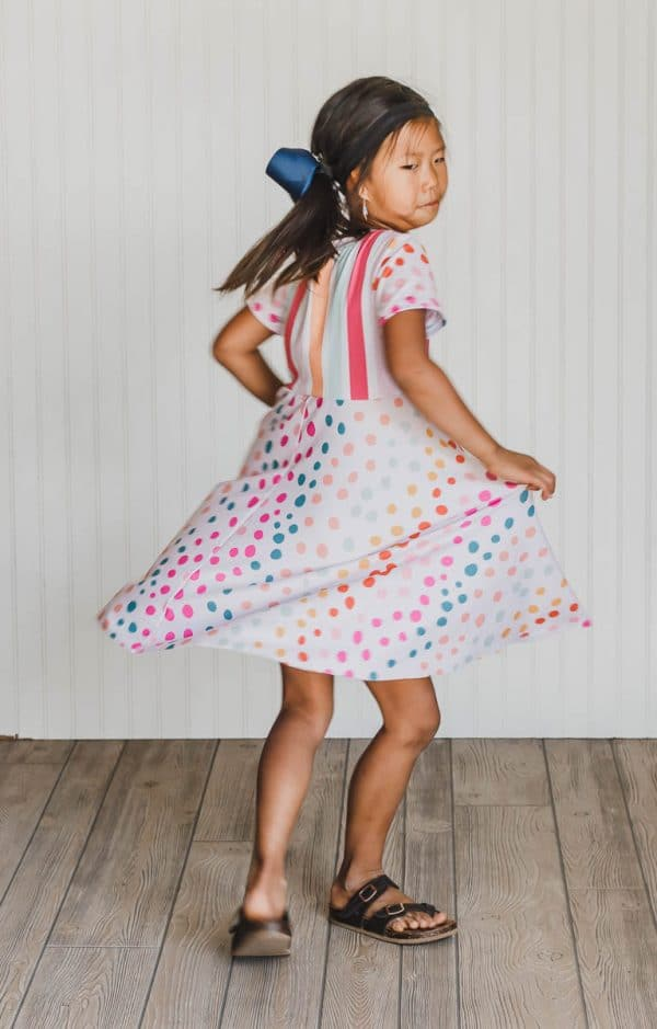 t-shirt dress free sewing pattern