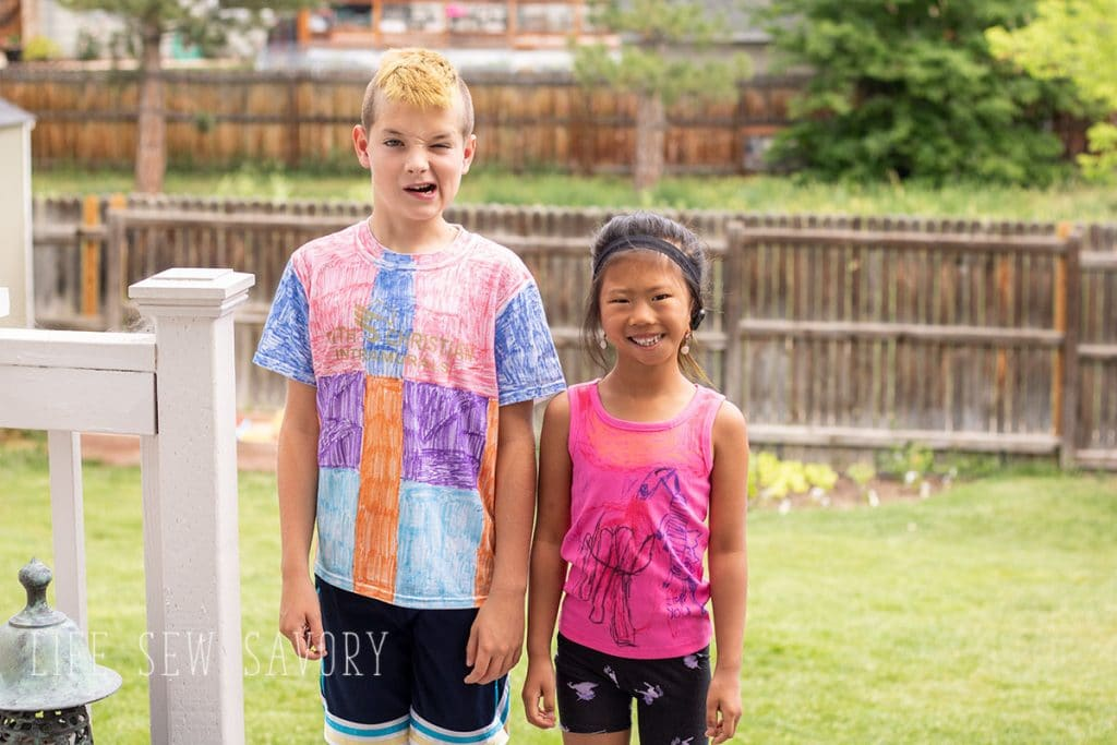 cool diy shirts kids can make