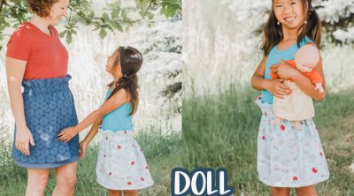 DIY easy skirt tutorial