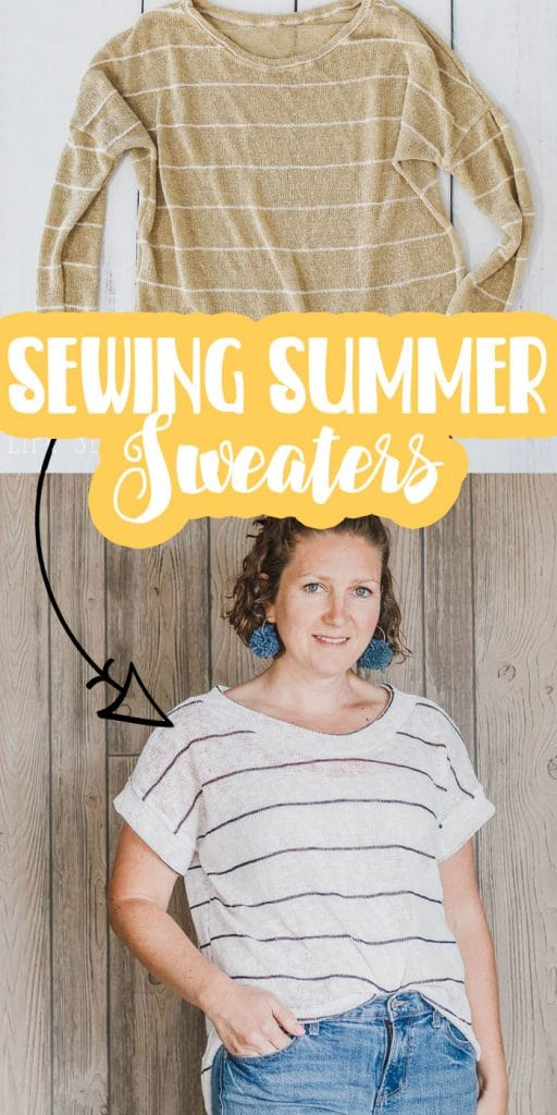 easy sewing summer sweaters fabric and patterns ideas