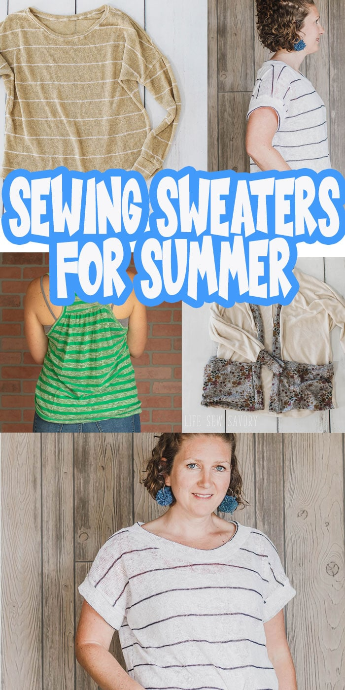 Sewing patterns womens summer tops for summer sweaters. Sew gorgeous lightweight summer sweaters with these pattern and fabric inspirations and ideas. Pdf patterns available for these designs.