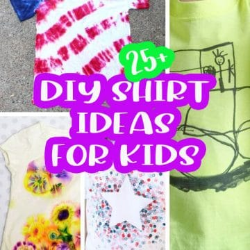 diy shirts kids can make