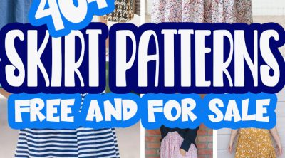 best skirt patterns for women to sew