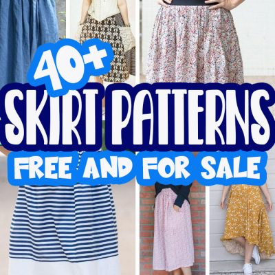 Best Womens Skirt Patterns – Free and Paid