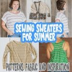 sewing sweaters for summer