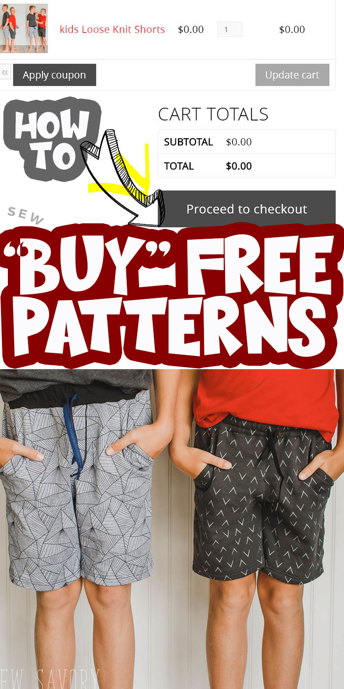 learn how to find the download link, use the checkout and cart and utilize your free life sew savory account to create a pattern library of free patterns.