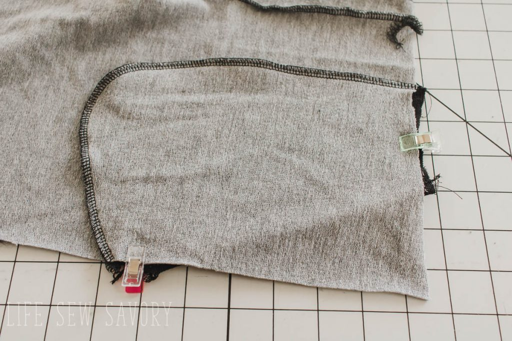 pocket pouch sewing tutroial
