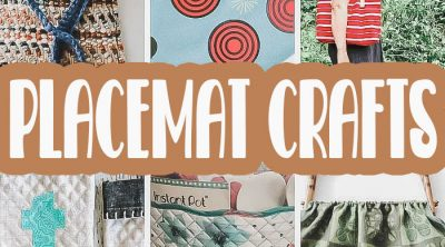 sew and craft with place mats