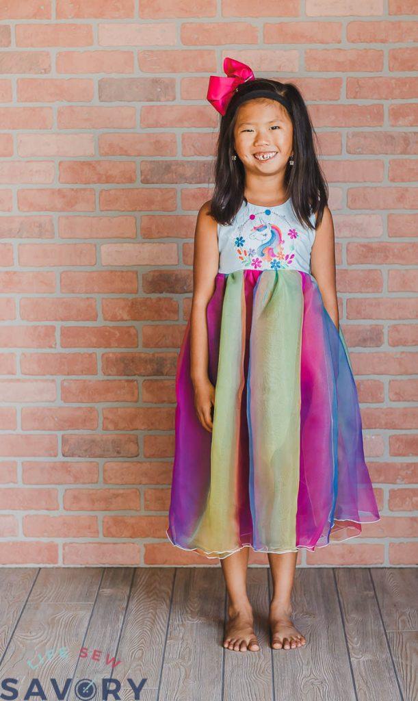 everyday fairytale unicorn dress