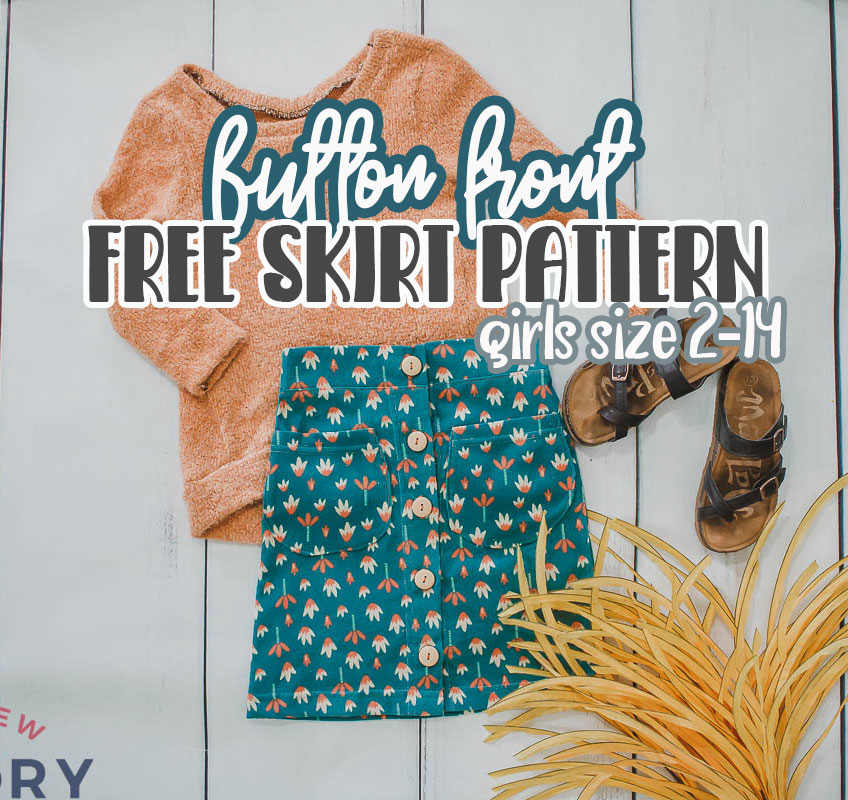 free skirt pattern sizes 2-14