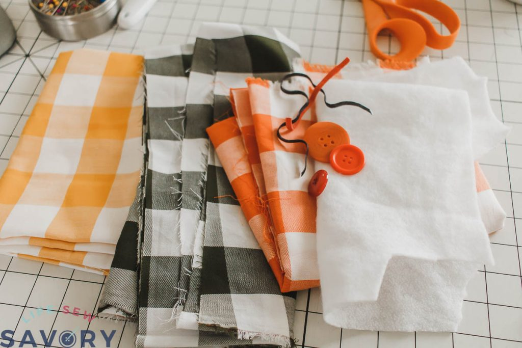 supplies to sew mug cozy