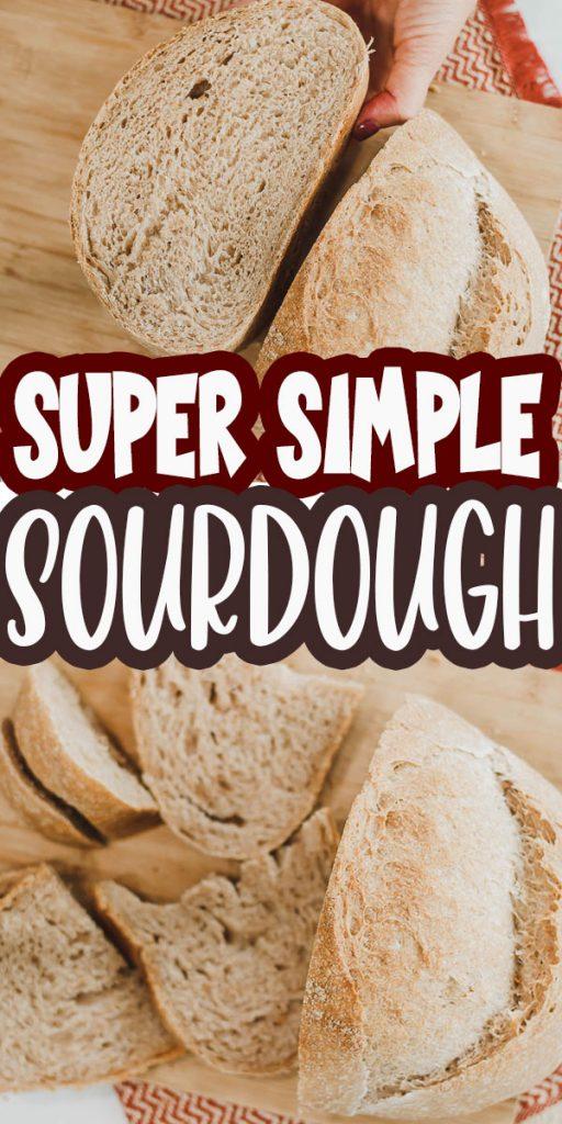 sourdough made simple video recipe and tutorial