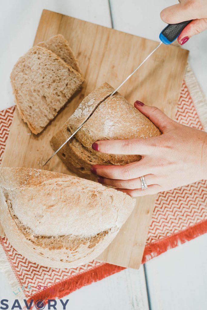 how to bake no fuss sourdough bread
