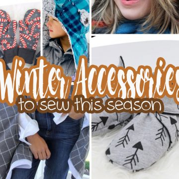 winter accessories to sew this season round up from Life Sew Savory