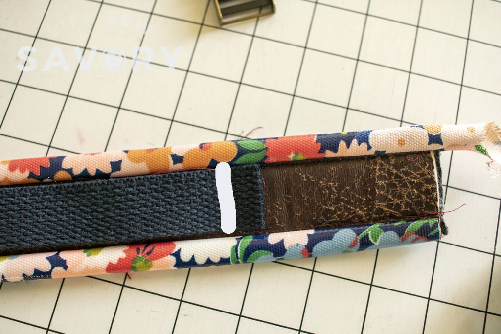 strap design sewing