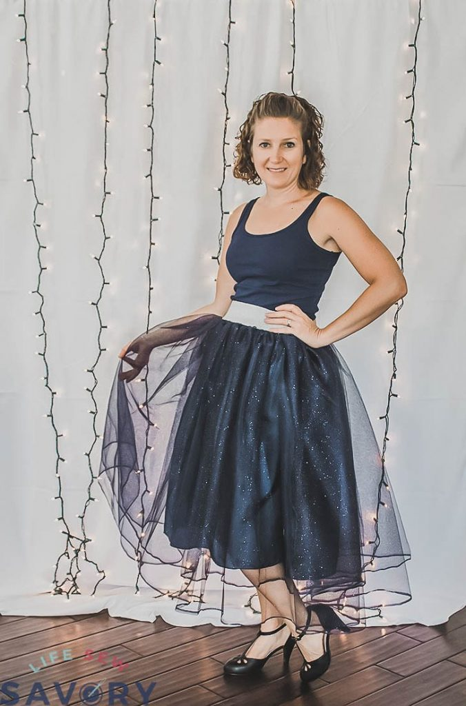 sew a tulle skirt