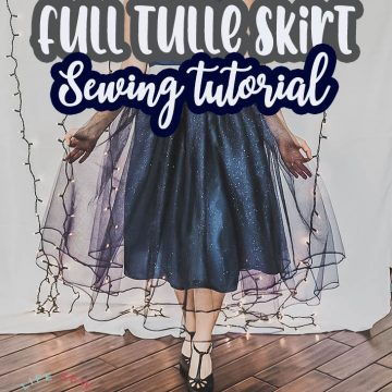 full tulle skirt tutorial