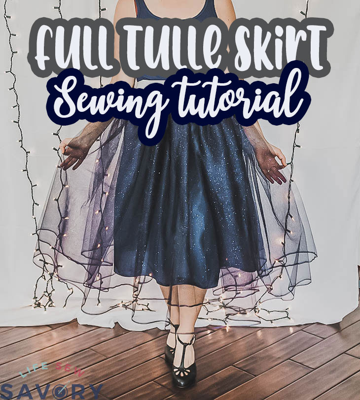 full tulle skirt tutorial