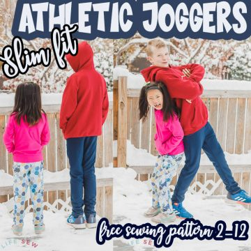 athletic pants free sewing pattern