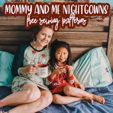 mommy and me free sewing patterns