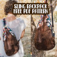 sew a one shoulder bag with a free pdf pattern