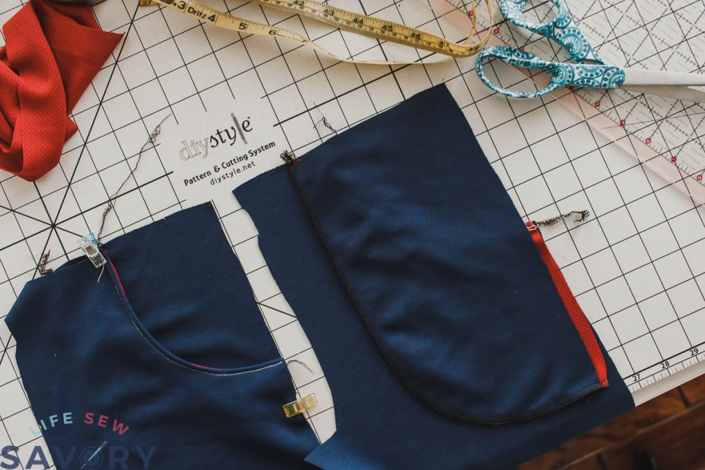 sew pockets to pants