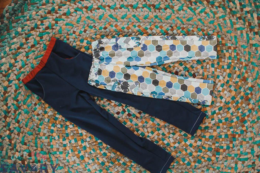 Slim fit athletic pants pattern