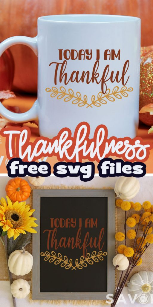 thankfulness free svg files and projects