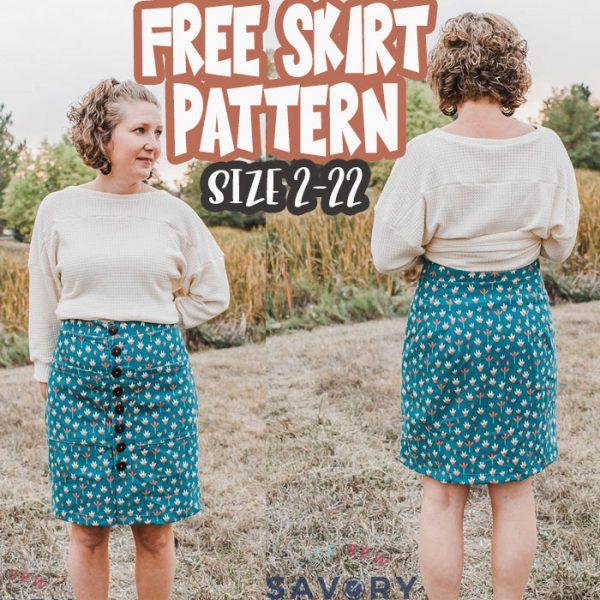 free skirt pattern for women