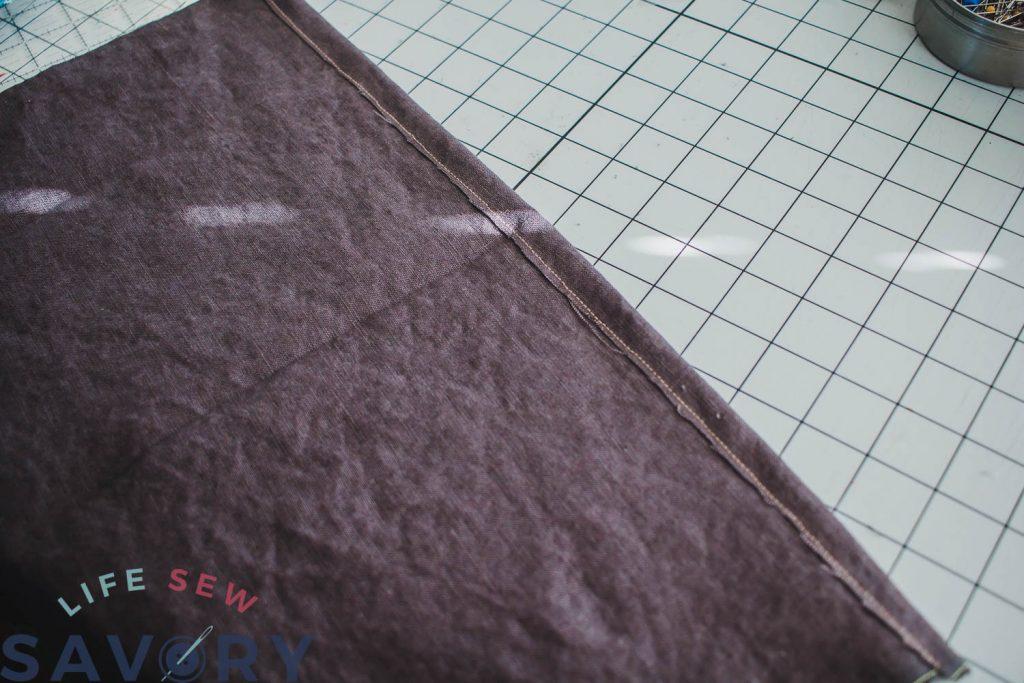 fold and hem